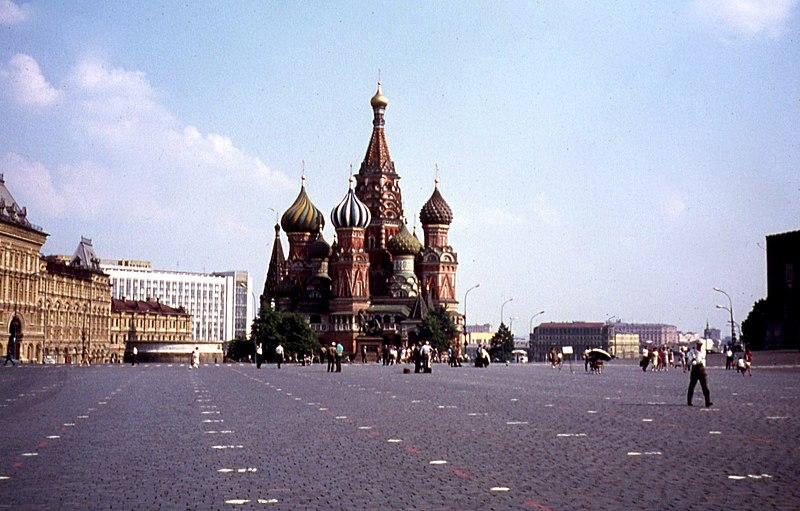 Покровский собор в 1973 году