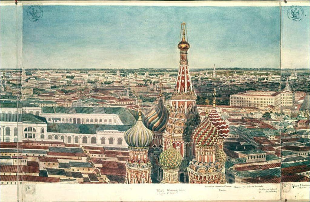Панорама Москвы 1820-х годов