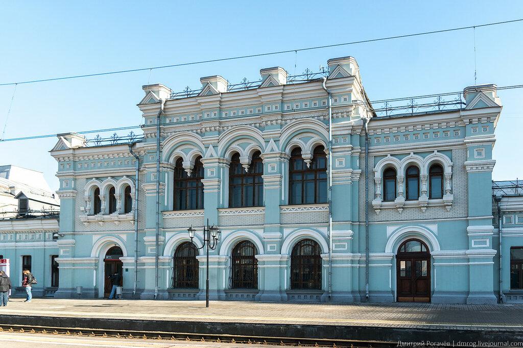 Рижский вокзал в Москве