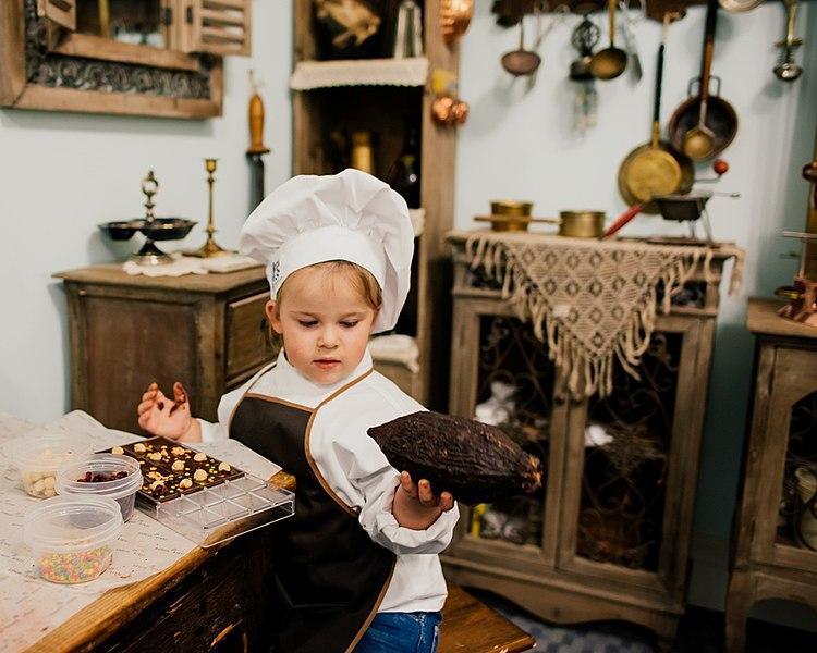 Мастер-классы в Музее истории русского шоколада