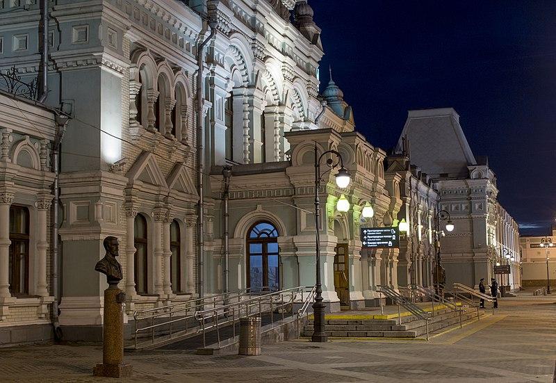 Рижский вокзал, 2017.