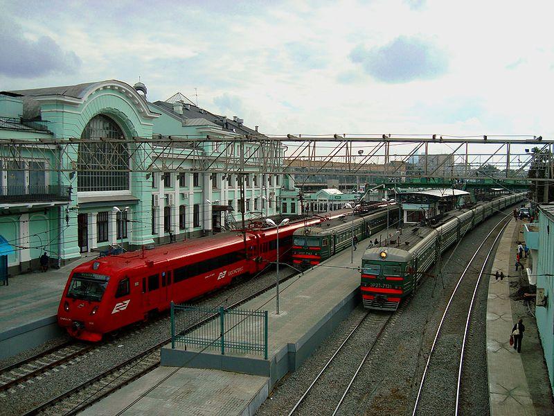 Пригородные платформы Белорусского вокзала, Москва