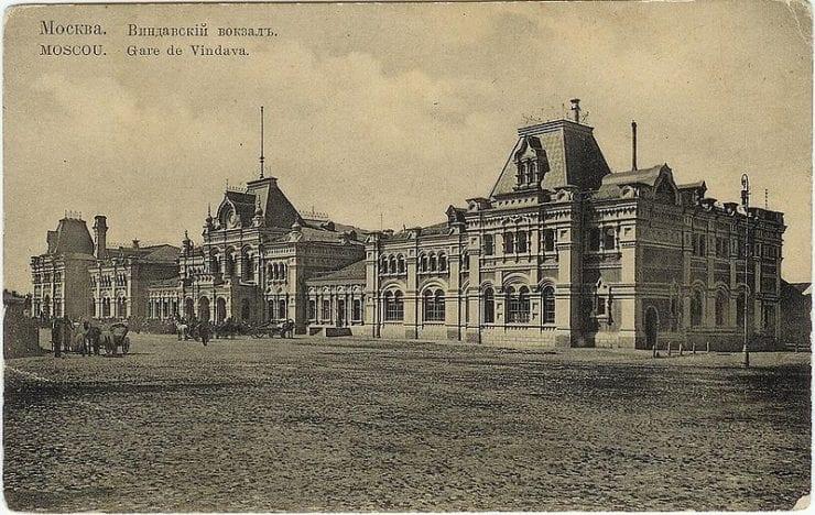 Виндавский (Рижский) вокзал в Москве, ранее 1917 года