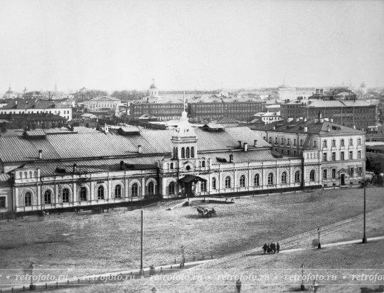 Казанский вокзал в Москве 1888 года