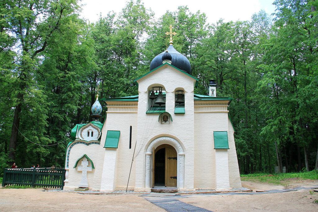 Церковь в Усадьбе Абрамцево