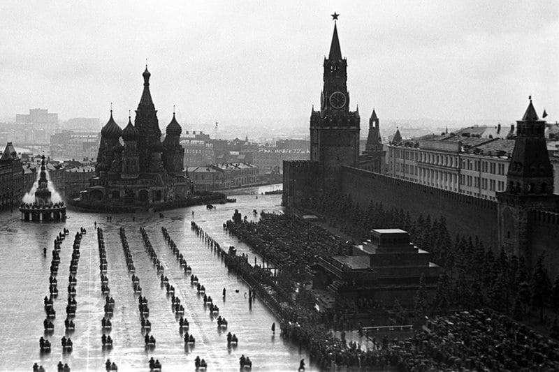 Парад Победы на Красной площади 24 июня 1945 года.