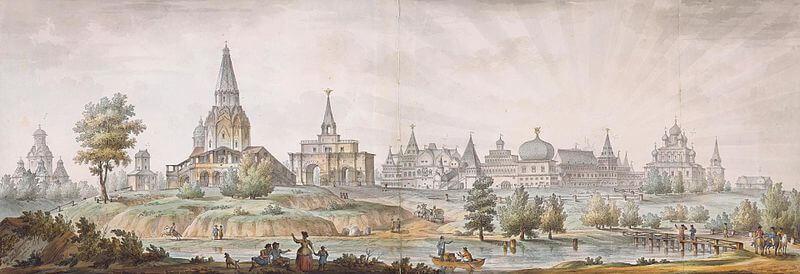 Вид на Москву 1797