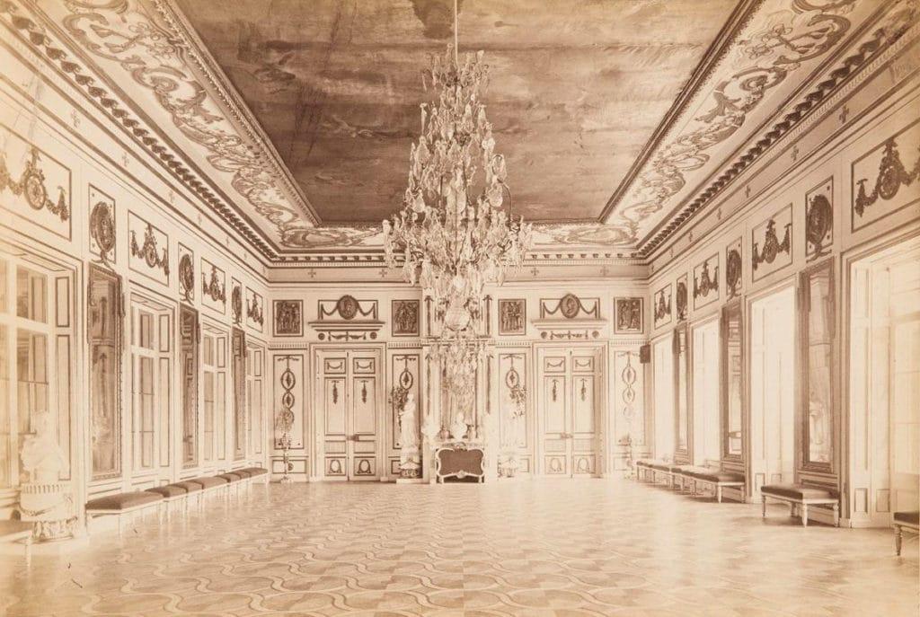 Большой дворец. Танцевальный зал. Около 1886 года