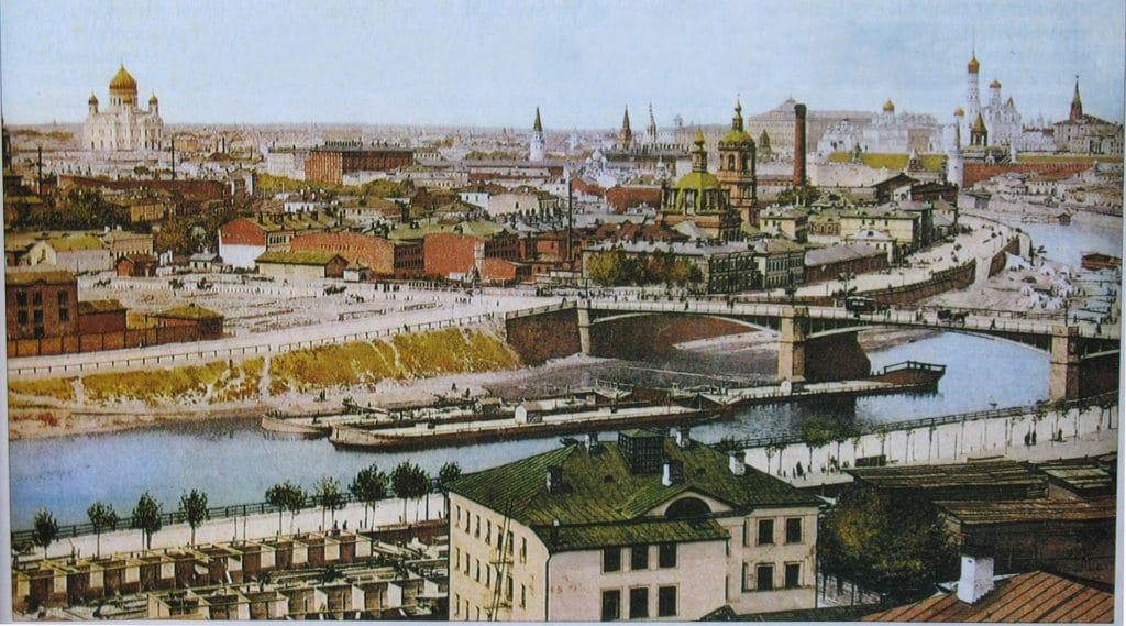 Панорама Москвы 1912 года