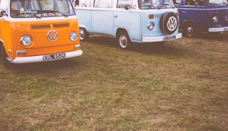 Старинные автобусы