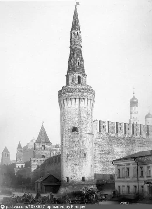 Беклемишевская башня Московского Кремля, 1889 г.