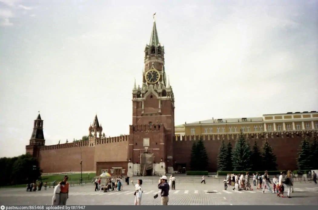 Спасская башня Московского Кремля, 1996-1998 гг.