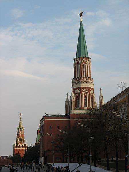 Никольская башня Московского Кремля