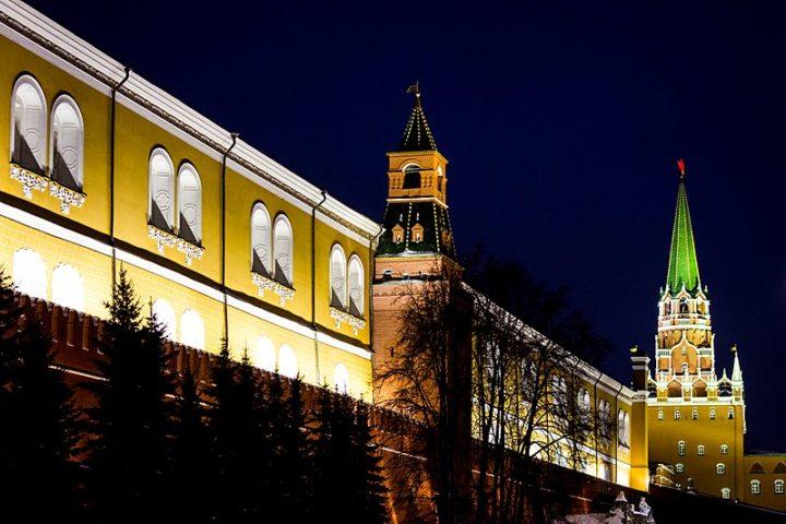 Средняя Арсенальная башня Кремля