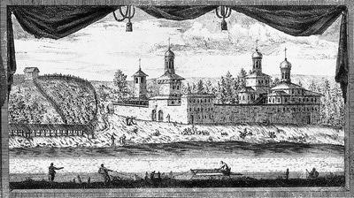 Монастырь в XIX веке