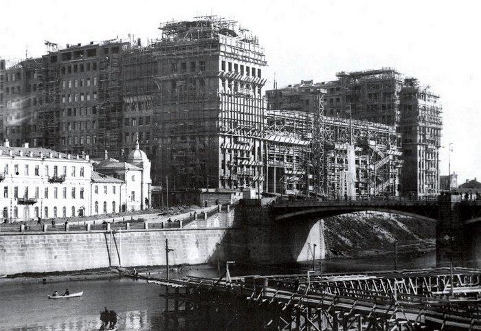 Строительство дома, 1930 год