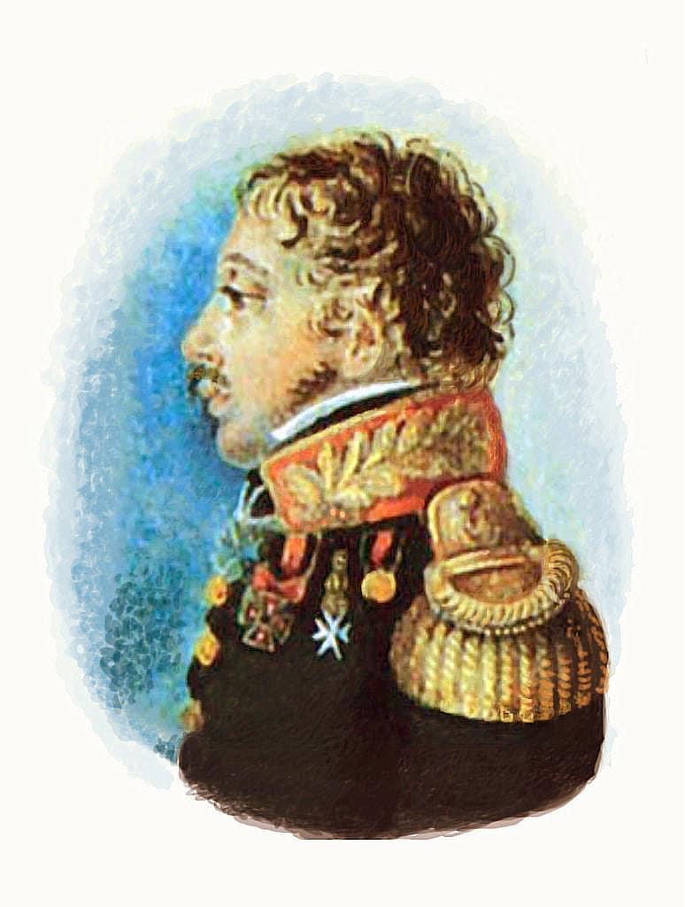 Портрет Н.З.Хитрово. П.Э.Рокштуль, середина 1810-х