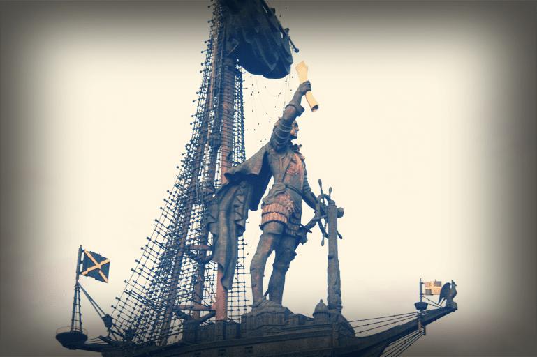 Памятник Петру Великому в Москве