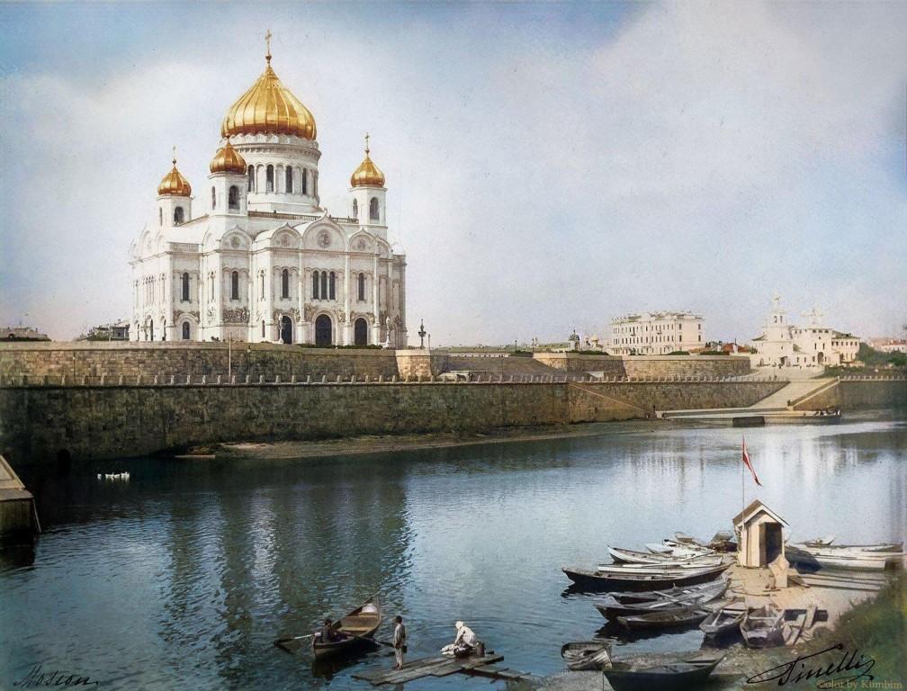 Храм Христа Спасителя, 19 век