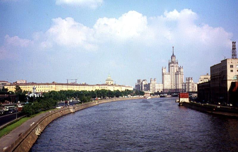 Вид на высотку, 1973 год