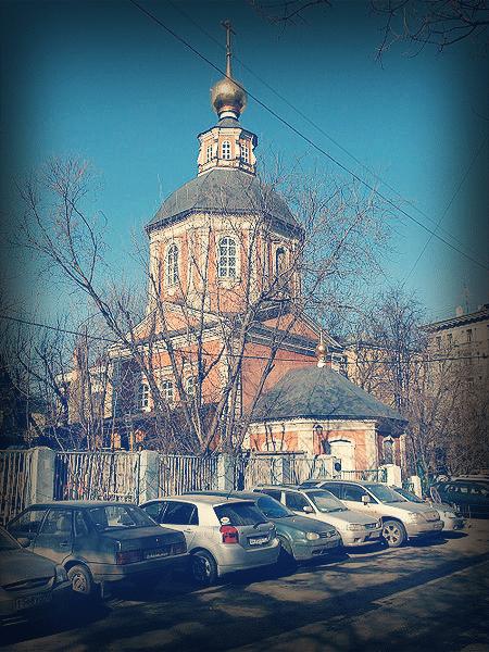 Храм Спаса Преображения на Болвановке, 2008 год