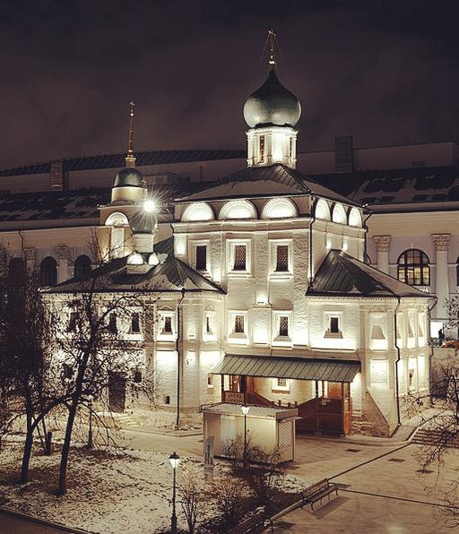 Церковь Максима Блаженного, г.Москва, Зарядье, 2017г.
