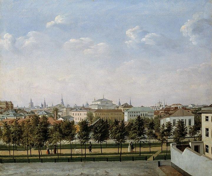 Рождественский бульвар в Москве, Шухвостова Степан Михайлович -около 1860 года