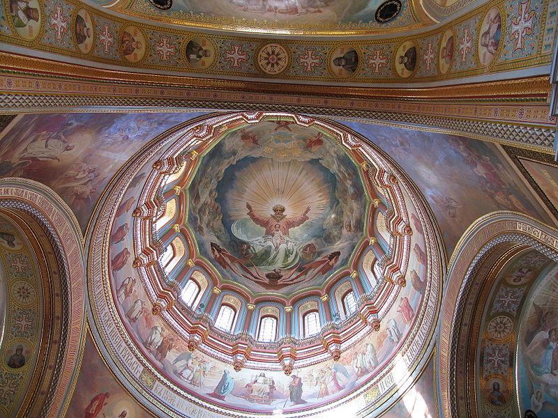 Роспись купола, 2004 год
