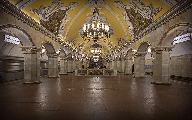 Станция метро Комсомольская-кольцевая, 2015 год.
