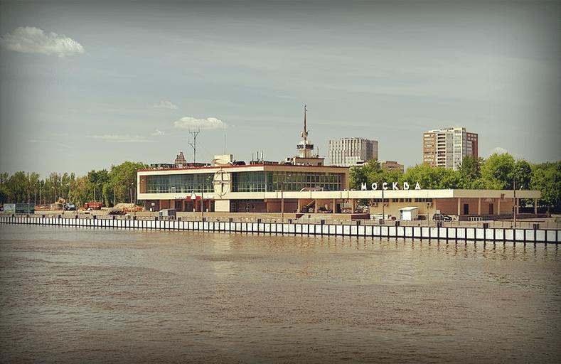 Южный речной вокзал Москвы