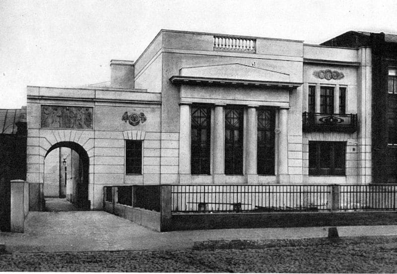 Особняк архитектора Шехтеля, 1910 год