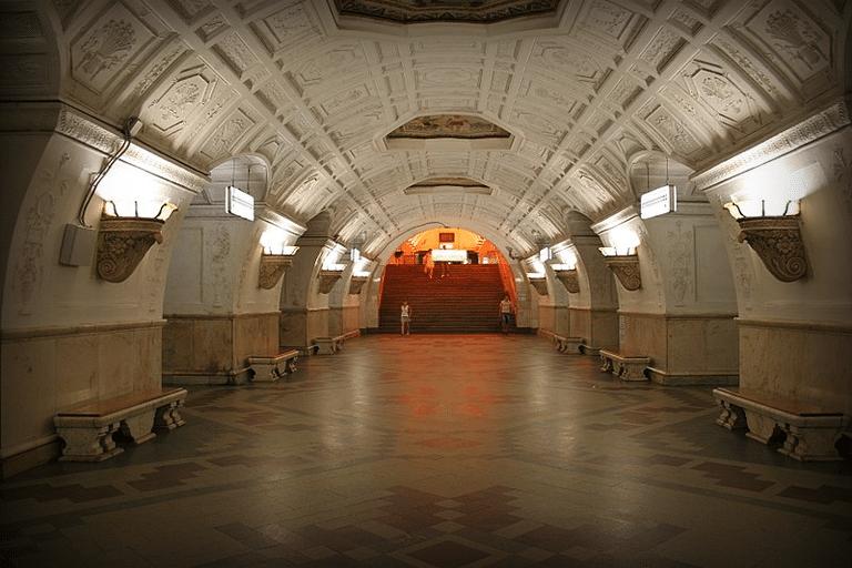 Станция Белорусская-Кольцевая, 2010 год.