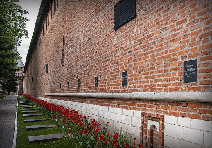 Некрополь у Кремлевской стены, 2015 год.