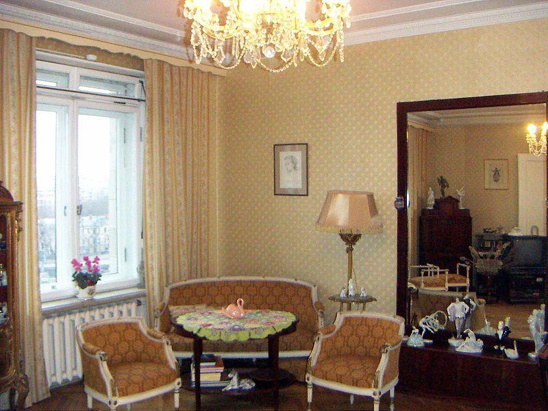 Квартира-музей балерины Галины Улановой, 2007 год