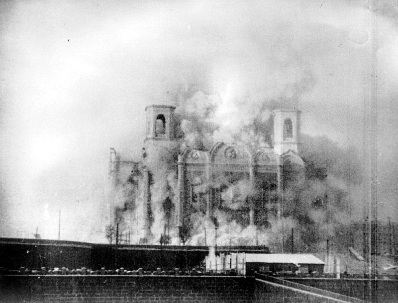 Разрушение храма, 1931 год