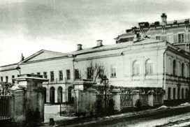 Дом Талызина, Никитский бульвар, 7; В 1840-1850- е гг. владение графа А. П. Толстого