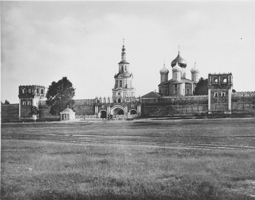Донской монастырь, 1883 год
