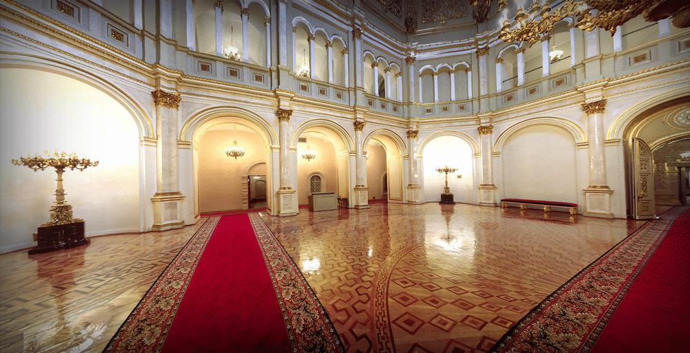 Интерьер Владимирского зала, 2012 год; Kremlin.ru