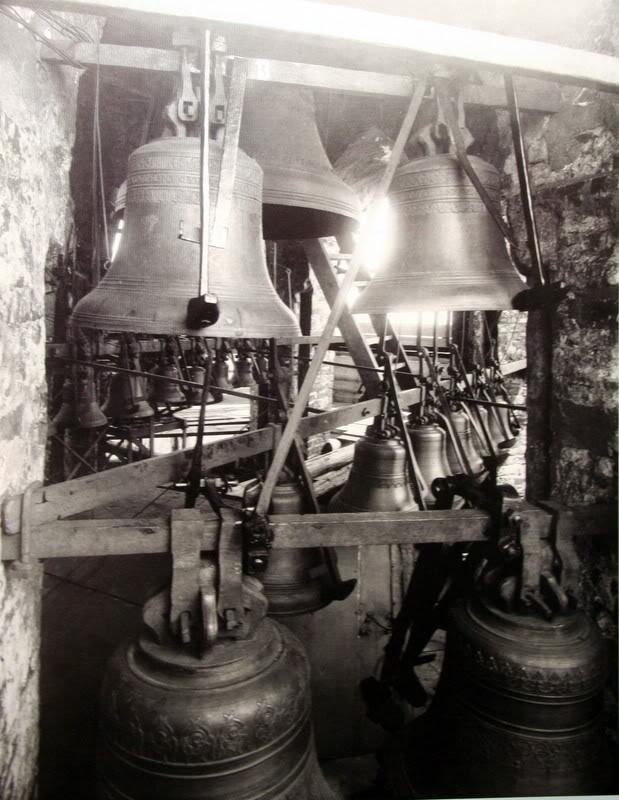 Звонница Спасской башни, конец XIX века