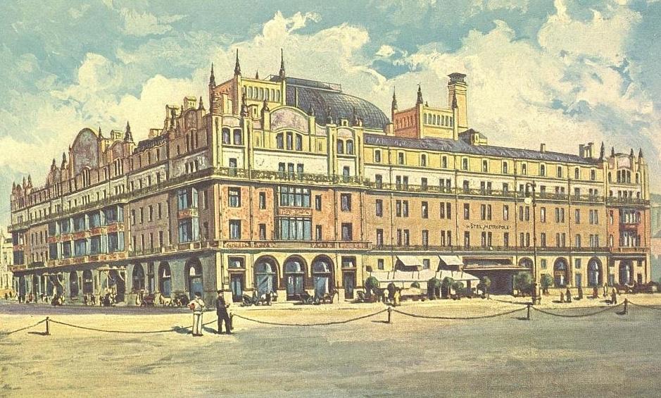 Гостиница «Метрополь». 1905