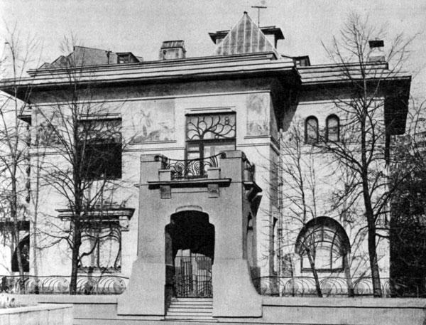 Особняк Рябушинского, 1900 год