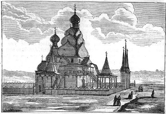Николо-Угрешский монастырь в XVII столетии. 1674 год