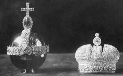 Императорская держава и малая корона