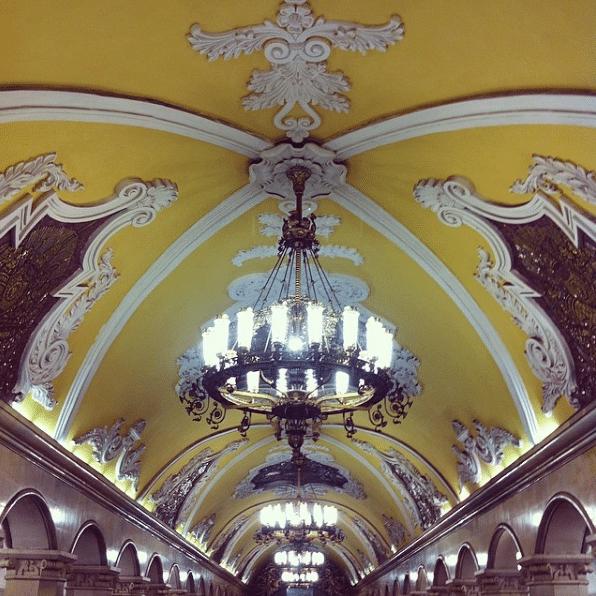Станция метро Комсомольская, 2016 год