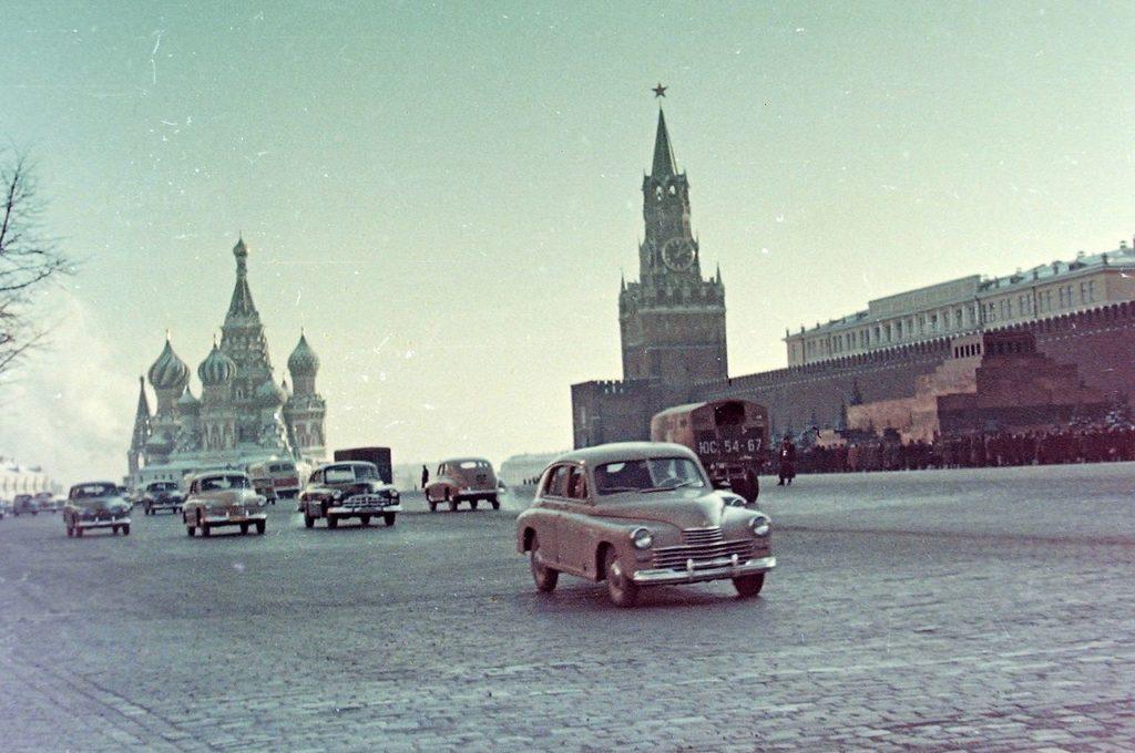 Красная площадь, 1958 год