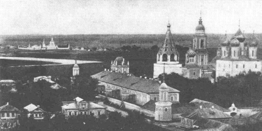 Вид на Бобренев монастырь (1907 год)