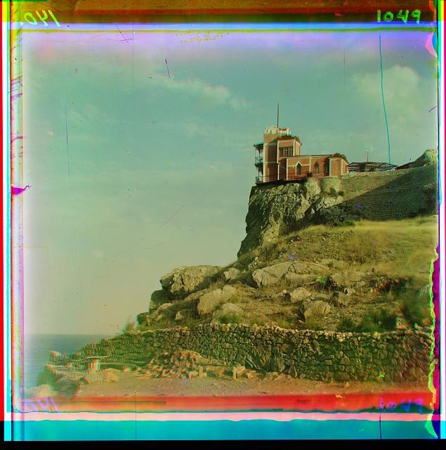"""""""Ласточкино гнездо. Крым. 1904""""."""