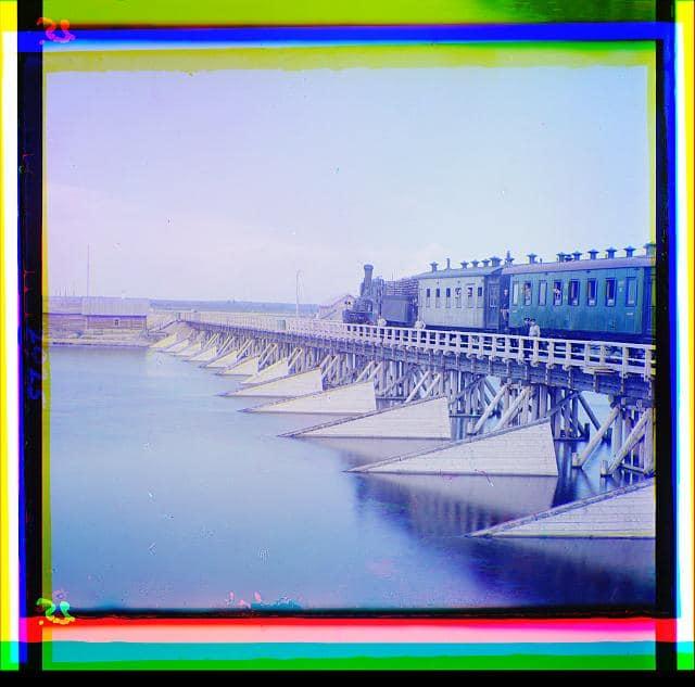 """""""Железнодорожный мост через реку Шую"""""""