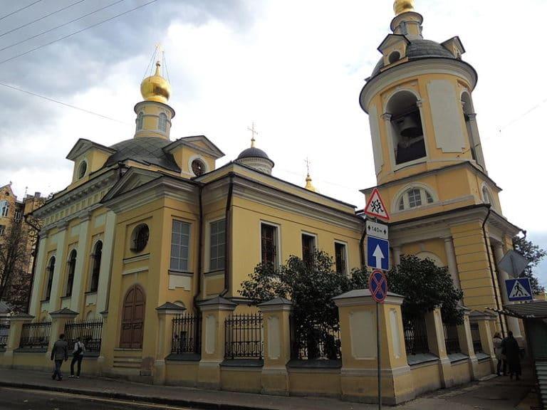 Храм священномученика Антипия на Колымажном дворе