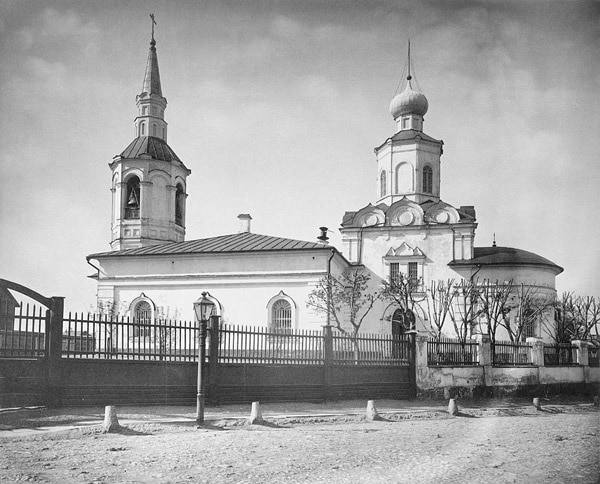 Храм Воздвижения Креста Господня на Чистом Вражке, фото 1882 года